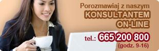 porozmawiaj z naszym konsultantem on-line